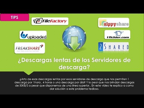 TIPS | [FUNCIONANDO] ¿Descargas lentas?