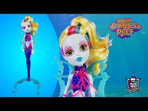 Glowsome Ghoulfish Lagoona Blue Monster High Review