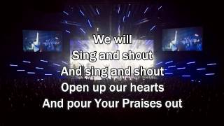 Sing and Shout - Matt Redman (Worship song with Lyrics) 2013 New Album