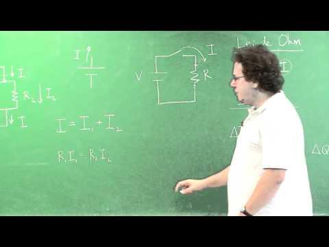 Circuitos elétricos - Aula 2 | Vídeo Aulas de Física Online