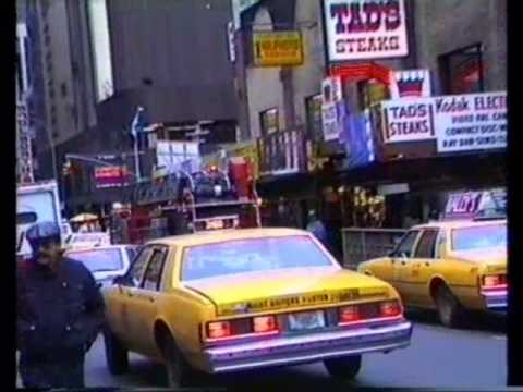 New York - the noisy city - 1988 - Manhattan