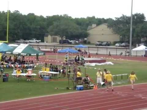 Dania Guidry Northside Striders Track Meet @ Clear Creek High School, May 21, 2011