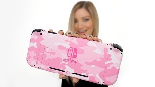 OMG! A PINK CAMO NINTENDO SWITCH!!! Unboxing!