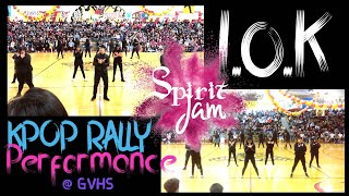 KPOP - GVHS Spirit Jam Rally Performance 2019 [I.O.K]