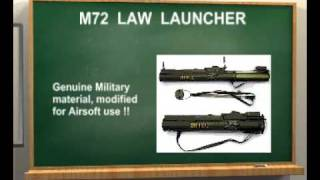 M72 LAW launcher for Airsoft