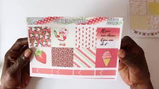 New Releases Planner stickers// Erin Condren/ Happy planner/ Kikki K