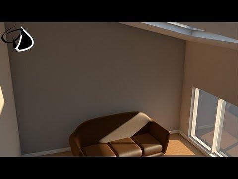 C4D | Tutoriel | Architecture d'intérieur