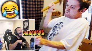 Hamlinz Reacts to Fortnite Rage Compilations!