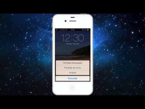 Nuevo en iOS 7: Fondos de pantalla con fotos panorámicas