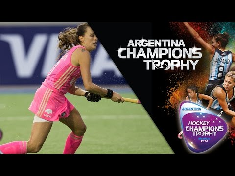 Argentina vs Germany - Women's  Hockey Champions Trophy 2014 Argentina Group A [29/11/2014]