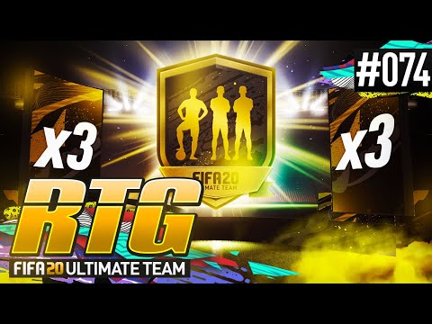 HUGE PACK PULL & 3x TOTW PACKS! - #FIFA20 Road to Glory! #74 Ultimate Team