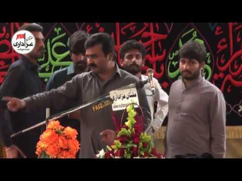 Zakir Qazi Waseem Abbas | Majlis e Aza 26 Feb 2018 | Shair SHah Multan |