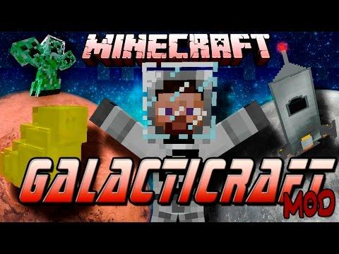 Minecraft: Galacticraft MOD - Guía Completa. A la Luna y a Marte que nos vamos!
