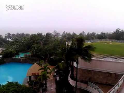 Central Meteorological Observatory  Post hurricane warning and red orange rainstorm warning 150711