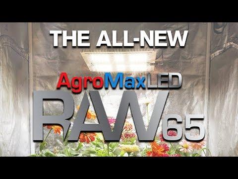 The AgroMax Raw 65 Full-Spectrum LED Grow Light