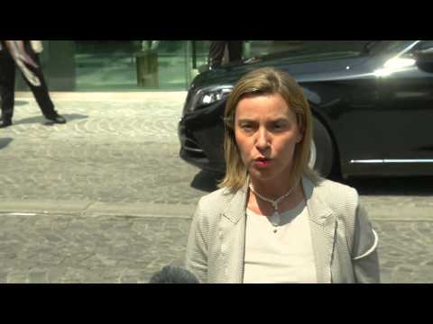 Federica Mogherini travels to Vienna for Iran Nuclear Talks