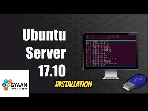"""How to Install Ubuntu Server 17.10.1 """"Artful Aardvark"""" + LAMP Server on Oracle VirtualBox"""