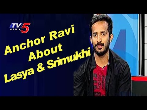 Anchor Ravi About His Relation With Lasya and Srimukhi | TV5 News