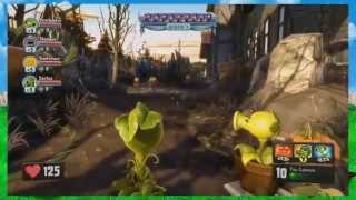 Новинка! Plants vs Zombies( Геймплей) Garden Warfare (Gameplay)