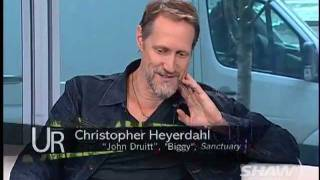 Christopher Heyerdahl on UR