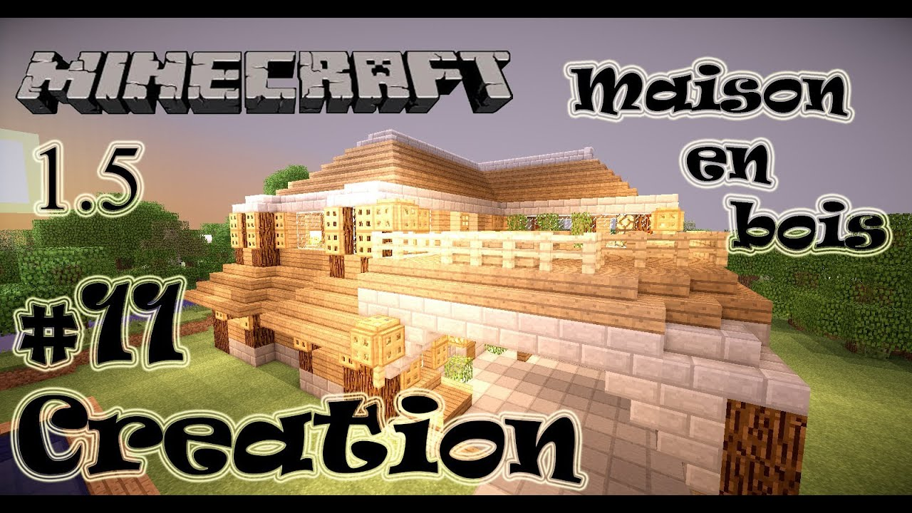 Plan de maison minecraft en bois images for Creation plan maison