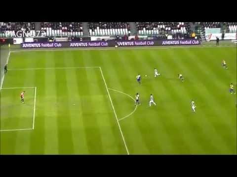 JUVENTUS Vs Parma Goal Tevez  1-0