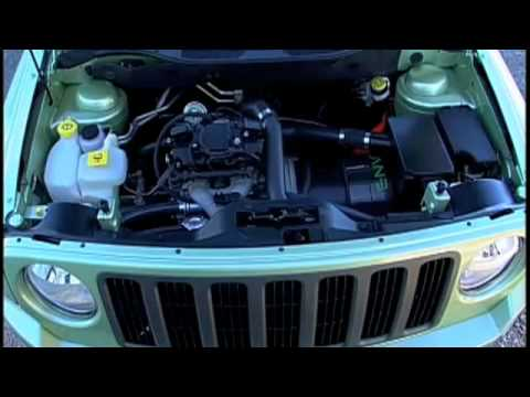 Jeep Patriot EV driving and details