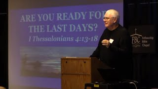 David Hocking: Are You Ready for the Last Days? [2014 Columbus Bible Prophecy Conf #5]