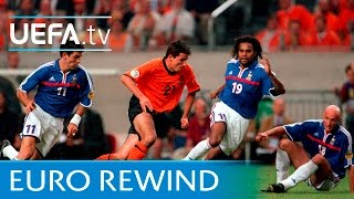 EURO 2000 highlights: France 2-3 Netherlands