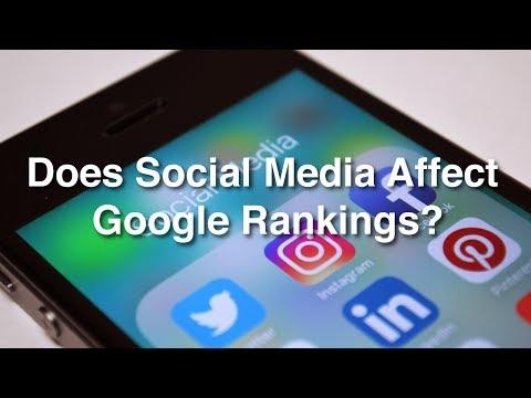 Does Social Media Affect Google Rankings?