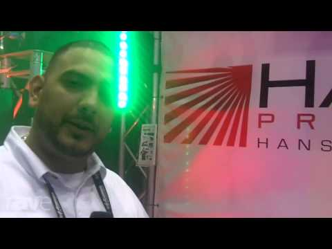 InfoComm 2013: Hanson Pro Systems Shows its Special Effects Products