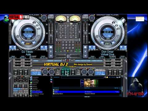 virtual dj 7 skins 59 temas para virtual dj 7