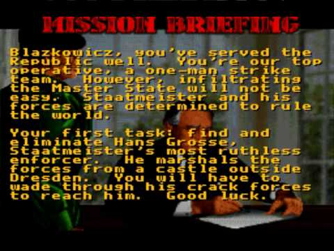Misc Computer Games - Goldeneye 007 N64 - Mission Briefing