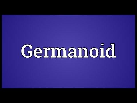 Header of Germanoid