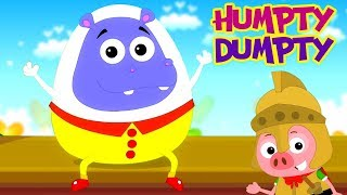 ฮัมพ์ตี้ ดัมพ์ตี้ นั่งอยู่บนผนัง | การ์ตูน | Humpty Dumpty | Preschool Thailand | เพลง เด็ก อนุบาล
