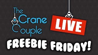 LIVE Mystery claw machine ping pong dropper and giveaway! | Freebie Friday