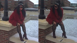 Winter Fashion Friday /Sassy #winterfashion #model #rosasbeautyfashion
