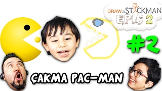 PAC-MAN KAZMASI! | Draw a Stickman: EPIC 2 #2