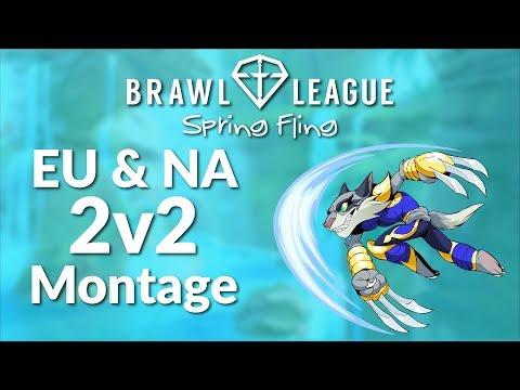 Brawlhalla Tournament Montage - Brawl League Spring Fling 2v2