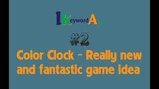 iKeyword Asia Channel - Color Clock - Impossible Wheel - Really new and fantastic game idea
