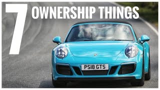 7 Ownership things you need to know - Porsche 911 Targa GTS