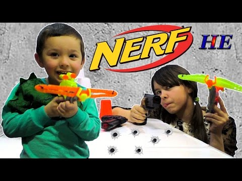 ОБЗОР НЕ НЕРФ Бластеры Пистолеты для Мальчиков и Девочек Игрушечное оружие Арбалет NERF WAR GUN BABY