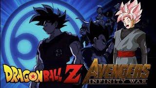 Rosé Goku Black Reacts to Dragon Ball Z/Super: Avengers Infinity War