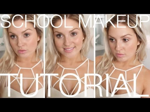 Back To School Makeup ♡ Quick, Natural, Easy