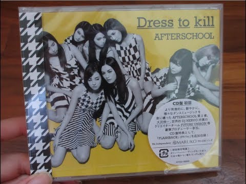 After School Second Full Album Dress To Kill CD Ver.Unboxing!