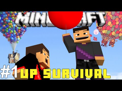 Minecraft   Up Survival   Part 1 - Up, Up, And Away! video