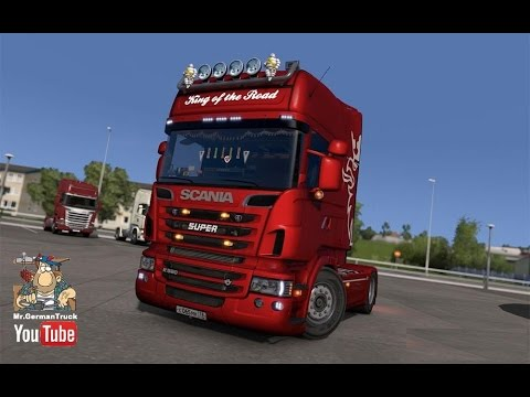 [ETS2 v1.23] Scania R & Streamline Mega Mod v5.1 + Cabin DLC