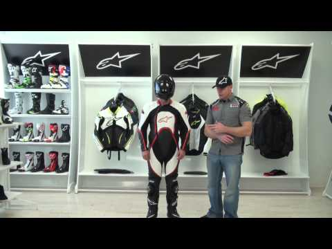 Alpinestars Orbiter One Piece Leather Race Suit Video Review from SportbikeTrackGear.com