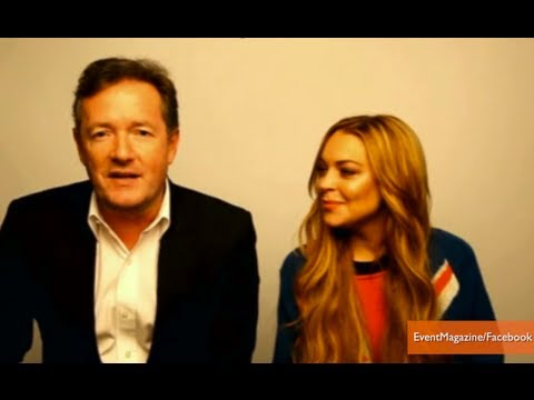 Lindsay Lohan Opens Up to Piers Morgan About Drugs, Rehab