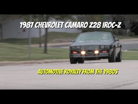 Chevrolet Camaro Z28 IROC-Z--Test Drive Video Review with Chris Moran
